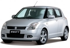 Suzuki Swift 1.3 small auto rent - Low fuel consumption