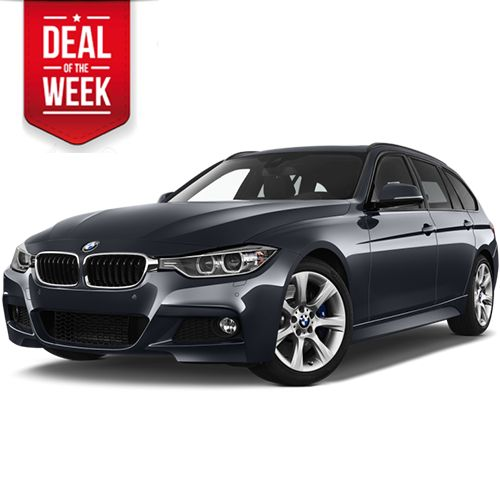 BMW 320d TOURING AUTOMATIC - book a large turbodiesel estate!