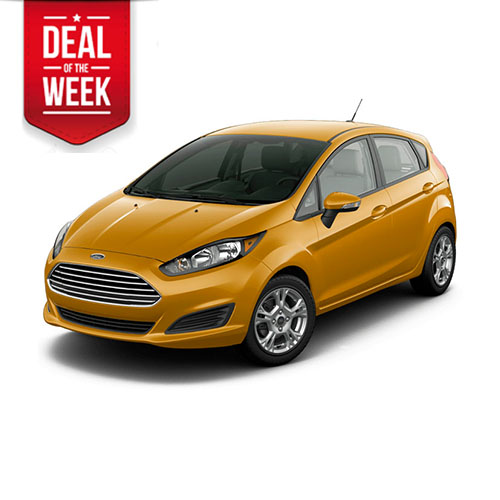 FORD FIESTA comfortable small family 5 seater