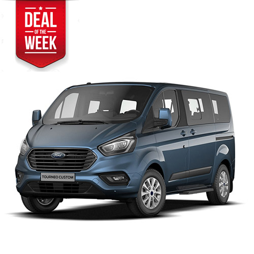 TOP DEAL OF THE WEEK! Ford Transit Tourneo Custom 9 person van