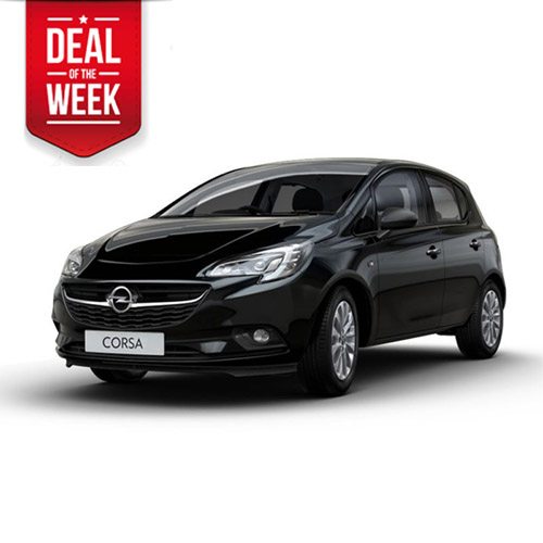 OPEL CORSA 5 seater vehicle with manual gear