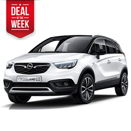 Opel Crossland X - rent a crossover experience!
