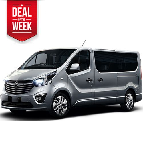 OPEL VIVARO 2.0 Cdti NEW biturbo 9 seats van on special abroad rates