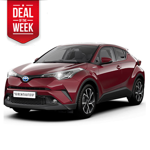 Toyota CHR self-loading hybrid automatic cross-over DEAL OF THE WEEK!