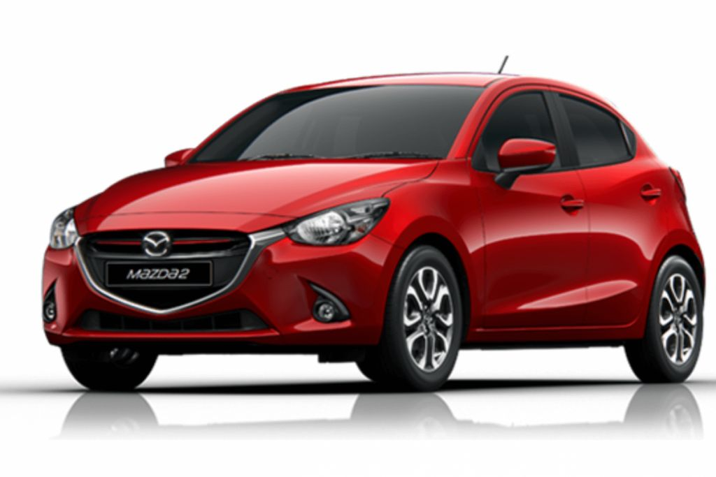 MAZDA 2 - 1.3 inexpensive small-compact reliable, modern sporty  car