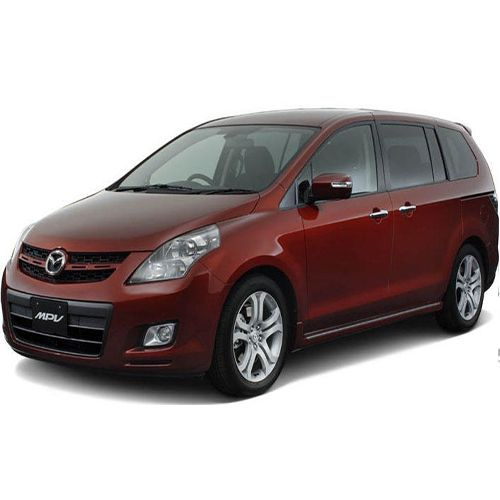 MAZDA MPV 6-7 persons smaller microbus hire for passengers on vacation