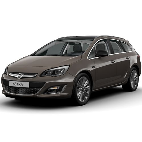 OPEL ASTRA J and K Caravan family station wagon car rental