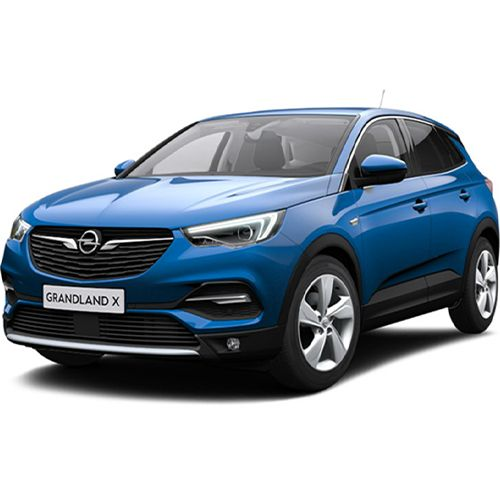 OPEL GRANDLAND X city crossover designed for usability
