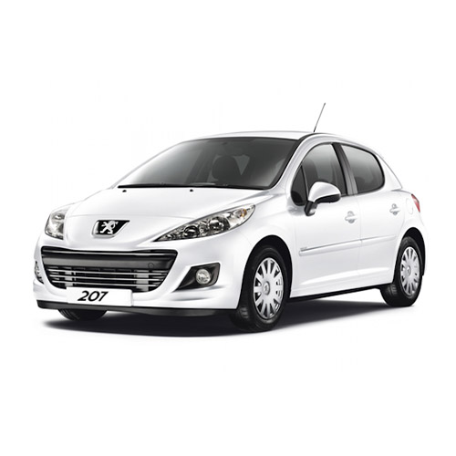 PEUGEOT 207 hatchback best small-compact rent