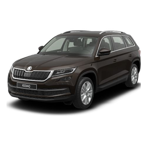 SKODA KODIAQ 2.0 TDI urban SUV hire for large family managers