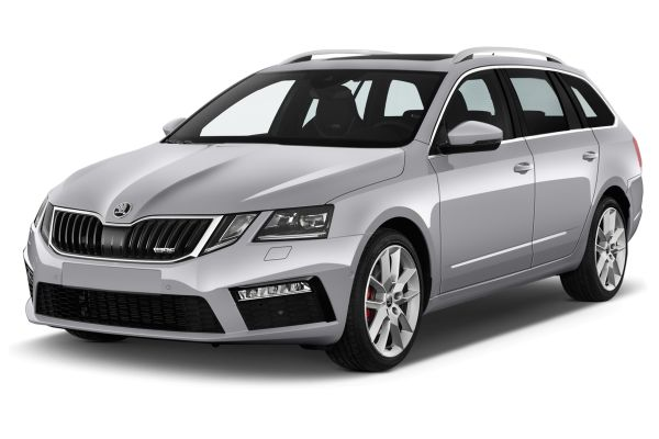 SKODA OCTAVIA COMBI diesel estate car rental Budapest Center