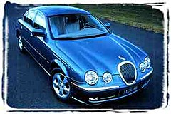 CHAUFFEUR SERVICE - superior Jaguar S-Type luxury sedan