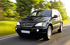 MERCEDES ML Superior class, great size & passenger space comfort