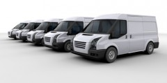 DELIVERY TRUCKS AND MINIBUSES with long period fleet management