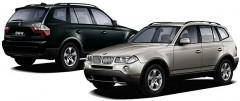BMW X3 luxury leisure compact hatchback SUV