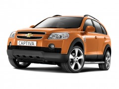 CHEVROLET CAPTIVA Crossover jeep rental