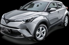 Toyota CHR SUV AUTOMATIC or manual gear city crossover rental