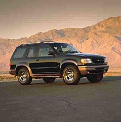 Ford Explorer outdoor mid-size four wheel drive SUV