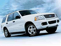 FORD EXPLORER SUV PICK UP all-wheel drive & four-door rent