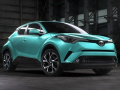 Toyota C-HR city-crossover SUV