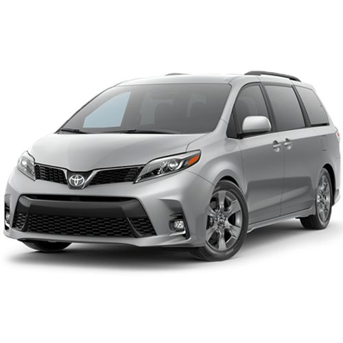G1 -LARGER MINIVANS for 7 people MPV + baggages