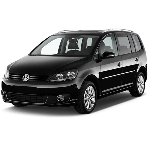 7 seater MPV Volkswagen Touran an airy car rental in Budapest